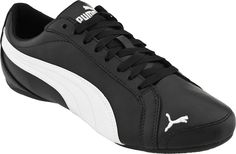 Puma Womens Shoes Janine Black Leather Dance Sneakers 7 New $62 | eBay