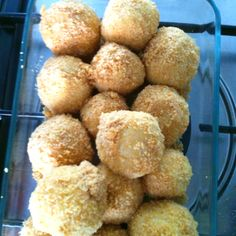 First Marillenknödel (apricot dumplings)