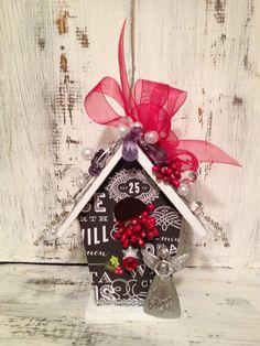 ANGEL Christmas Ornament  Handmade Wood by BirdhouseGiftGallery, $25.00