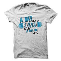 Snowboarding t-shirt #tee #Tshirt