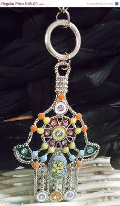 On Sale Hamsa necklace  32 by delinskidesigns on Etsy