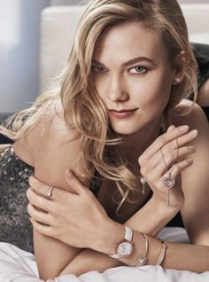 Swarovski jewelry F/W 16 #BeBrilliant Campaign - Karlie Kloss - Craig McDean