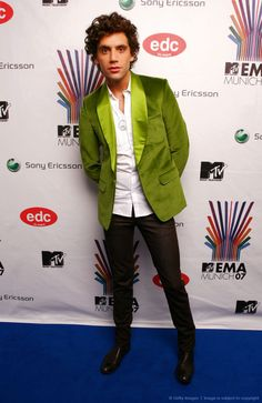 Mika @ MTV Europe Music Awards 2007 at Olympiahalle - Munich, Germany , Nov 1 2007