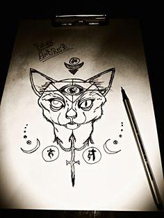 #Egyptian cat !!