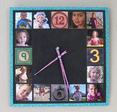 Easy instructions for turning a cheap clock into a really cute photo timepiece. Maybe a good Christmas present for Granny?