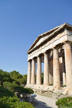 Exploring Athens Pt 1 | Ancient City Of Agora | Its All Bee