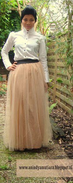 anienessence: DIY: tulle maxi skirt