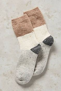 Cute comfy socks would look so cute sticking out of my brown booties!