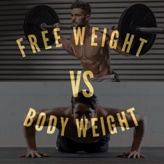 Should I Do Bench Press Or Push Ups? Can Body Weight Exercises Build  Muscle? Are Free Weight Exercises Sa