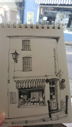 Sketch of the bookshop in fowey drawings and doodles в 2019 г. Architecture Drawing Plan, Architecture Drawing Sketchbooks, Architecture Portfolio, Concept Architecture, House Architecture, Pencil Art Drawings, Art Drawings Sketches, Sketch Art, Arte Sketchbook