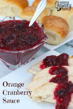 This Orange Cranberry Sauce tastes SO much better than anything you can buy in a can - don't do it! It is so easy to make your own homemade cranberry sauce for the holidays. This Orange Cranberry Sauce is delicious on turkey and rolls. It tastes so good and smells so good that I have to discipline myself not to just eat it right out of the pan It has a zesty, tangy flavor.