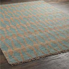 Spearhead Stripe with Natural Jute Rug