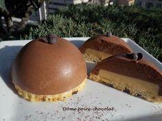 Dôme poire-chocolat