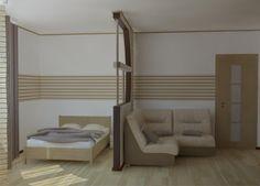 Картинки по запросу дизайн совмещенной гостинной и спальни