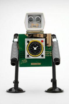 Robots de autor de Javier Arcos Pitarque  www.pitarquerobots.com