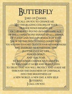Butterfly Prayer -- this is so pretty.