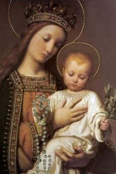 My Queen my Mother, I give myself entirely to thee and to show my devotion to thee, I offer to thee this day my eyes, my ears, my mouth, my heart, my whole being. without reserve. Wherefore good Mother as I am they own, keep me and guard me as thy property and possession. Amen