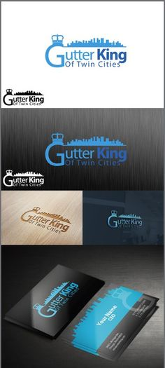 Create a high spirit playful logo for a character licensing multi gutter king of twin cities by ipp reheart Image collections