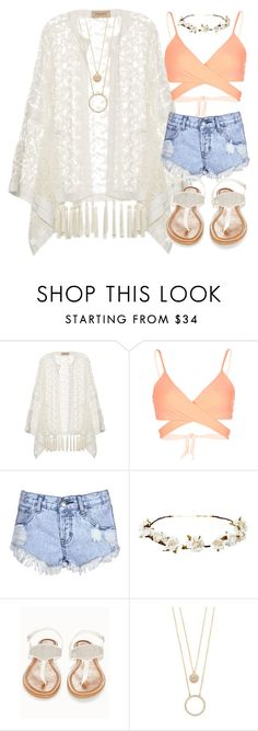 """Untitled #41"" by laurens-choice ❤ liked on Polyvore featuring ADRIANA DEGREAS, L*Space, Glamorous, Cult Gaia, OLIVIA MILLER and Kate Spade"