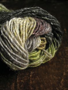 yarn stash: Noro Silk Garden, detail by chronographia, via Flickr