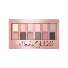 Maybelline New York Expert Wear Shadow Palette, The Blushed Nudes,... (160 MXN) ❤ liked on Polyvore featuring beauty products, makeup, eye makeup, eyeshadow, beauty, eyes, fillers, maybelline eye makeup, maybelline eyeshadow and palette eyeshadow