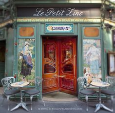 Parisian Moments: Paris: Le Petit Zinc