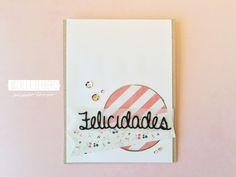Micaela Ferrero   Tarjeta Felicidades Latina Crafter   http://micaelaferrero.com