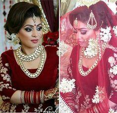 Bride. Punjabi Sikh Wedding #bridal #bride #lehenga #kalire #chura #adayinlife #brideday #wedding.  For More Follow Pinterest :@reetk516
