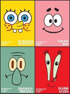Spongebob Poster by oneskillwonder. - Spongebob Poster by oneskillwonder. Spongebob Painting, Spongebob Drawings, Cartoon Painting, Diy Painting, Small Canvas Paintings, Small Canvas Art, Cute Paintings, Mini Canvas Art, Wie Zeichnet Man Spongebob
