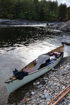 canoe camping - the way to go, with the guitar along.