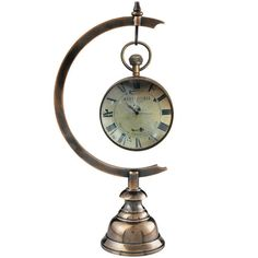 Eye of Time Clock - with or without Stand – Allissias Attic & Vintage French Style
