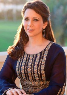 Her Royal Highness Princess Haya of Jordan.  Princess Haya bint Al Hussein, born 3 May 1974, is the daughter of King Hussein of Jordan from his third wife, Queen Alia. Princess Haya is the junior wife of Sheikh Mohammed bin Rashid Al Maktoum.  The couple have two children, one daughter and one son.
