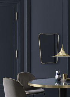 Miroir F.A.33 /  Gio Ponti - L 70 x H 146 cm Laiton - Gubi - Décoration et mobilier design avec Made in Design
