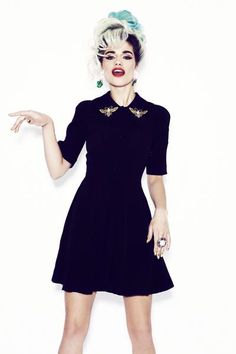 Black Bee Dress by Coco Fennell . cocofennell.com