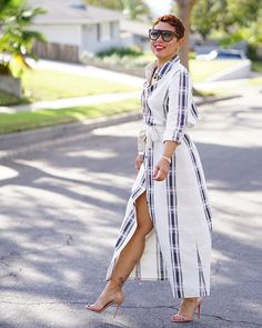 """1,351 Likes, 27 Comments - Mimi G (@mimigstyle) on Instagram: """"#4 OF 10 MUST HAVE ME MADE GARMENTS: The Perfect Shirt Dress  —————————— NOW ON THE BLOG. I…"""""""