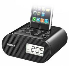 Sony Dock Clock for iPod and iPhone Dorm Design, All Colleges, Dorm Room Bedding, Ipod Dock, Back To School Essentials, Dorm Decorations, College Life, Diy Room Decor, Speakers