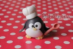 fondant penguin can be used for polymer clay