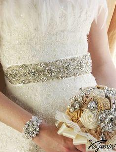 Bridal sash Wedding sash Bridal belt crystal sash by VioGemini Beaded Wedding Gowns, Wedding Sash Belt, Wedding Belts, Lace Wedding Dress, Bridal Dresses, Dress Sash, Dress Belts, Swarovski, Wedding Styles