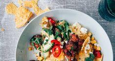Nachos recept met kip, feta en mais - Uit Pauline's Keuken