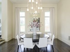 darling contemporary dining area