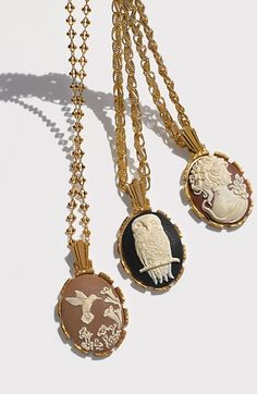 Nordstrom Cameo Pendant Necklace   Nordstrom