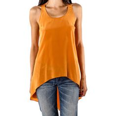 Solid U Tank Orange, $49, now featured on Fab.