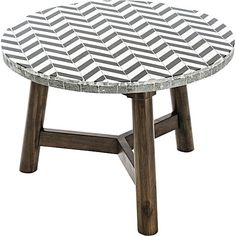 Contrast contemporary patterning and classic wood looks with the Outdoor Coffee Table, Chevron from Vienna Woods. Outdoor Coffee Tables, Outdoor Lounge, Vienna Woods, Ottoman Sofa, Apartment Balconies, Outdoor Settings, Vanity Bench, Chevron, Stool