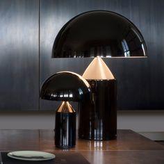 Modern Interior, Home Interior Design, Interior Architecture, Interior Decorating, Interior Lighting, Home Lighting, Lighting Design, Atollo Lamp, Luxury Furniture