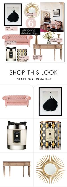 """""""Glorious Foyer..."""" by nfabjoy ❤ liked on Polyvore featuring interior, interiors, interior design, home, home decor, interior decorating, Jo Malone, Barclay Butera, Incipit and foyer"""