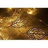 Wish you have a nice day leaf Decoration String Lights20 leds Christmas and Halloween String Lights Battery Operated... christmas deals week