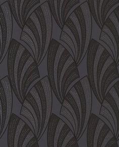 Novella: Black Wallpaper    Very Art Deco!