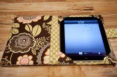 iPad cover iPad2 Cover ipad 3 cover ipad cozy ipad by cielorosa, $40.00