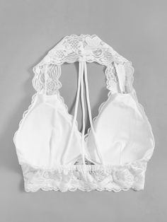 ZAFUL offers a wide selection of trendy fashion style women's clothing. Lingerie Outfits, Satin Lingerie, Bodysuit Lingerie, Pretty Lingerie, Lace Bodysuit, Women Lingerie, Sexy Lingerie, Lingerie Sets, White Lace Bralette