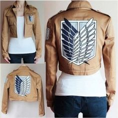Item Description : Material: Polyester, Cotton, Microfiber - Components: Jackets - Fabric Type: Worsted Sleeve Length: Full Size Bust (cm) Shoulder (cm) Length (cm) Sleeve (cm) S 85 38 44 56 M 90 40 4